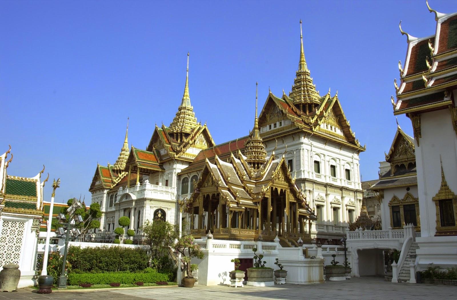 Bangkok Grand Palace - Bangkok, Dschungel und der Golf von Siam