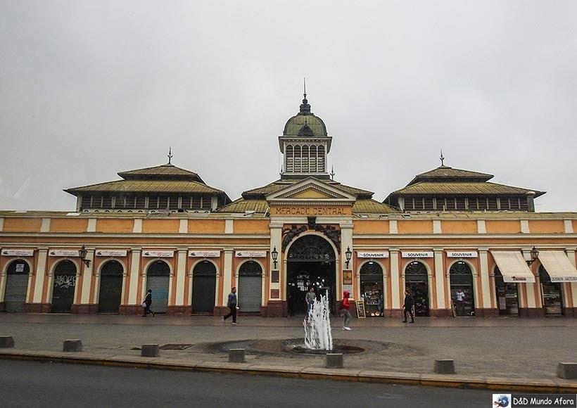 Mercado Central - o que fazer em Santiago