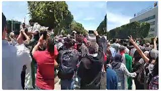 شارع الحبيب بورقيبة: احتقان كبير والأمن يطلب تعزيزات ..