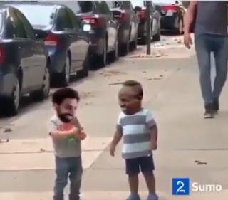 فيديو ساخر كوميدى ينشرة محمد صلاح هو مانى حول علاقتهما