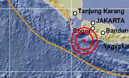 Pagi Ini Gempa Guncang Bayah Banten, Tidak Berpotensi Tsunami
