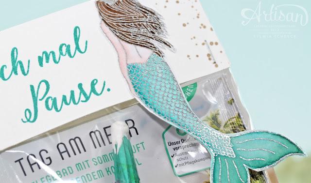 Jahr voller Farben-Mermaid-Stampin up
