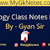 Biology Class Notes PDF in Hindi