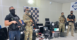 Operação prendeu seis integrantes de organização criminosa em Vitória da Conquista