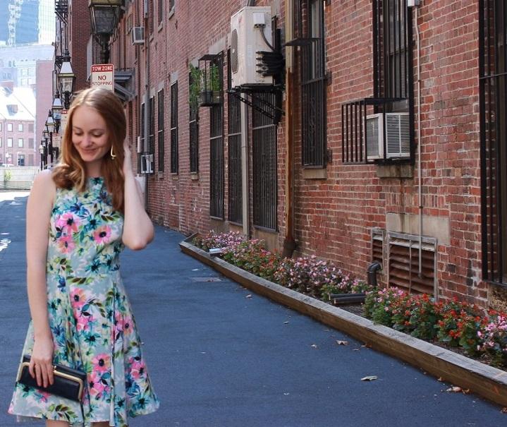 Shake the Tree Boston: Floral Dress