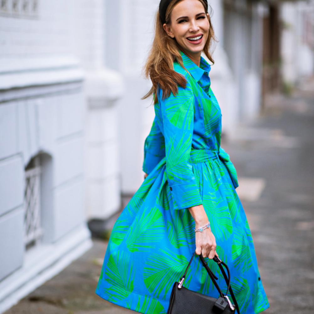Summertrend Print-Look Alexandra im Blusenkleid von Marc Cain