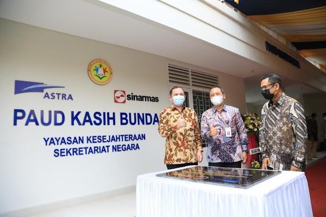 Tingkatkan Kualitas PAUD, Astra Renovasi Gedung & Dukung Pengembangan PAUD Kasih Bunda