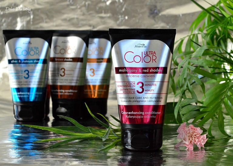 Joanna ULTRA Color Odżywka koloryzująca odcienie Czerwieni  recenzja