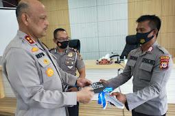 Refdi Adri Semangati Polantas Polda Maluku