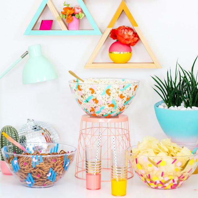 DIY It – Confetti Party Serving Bowls