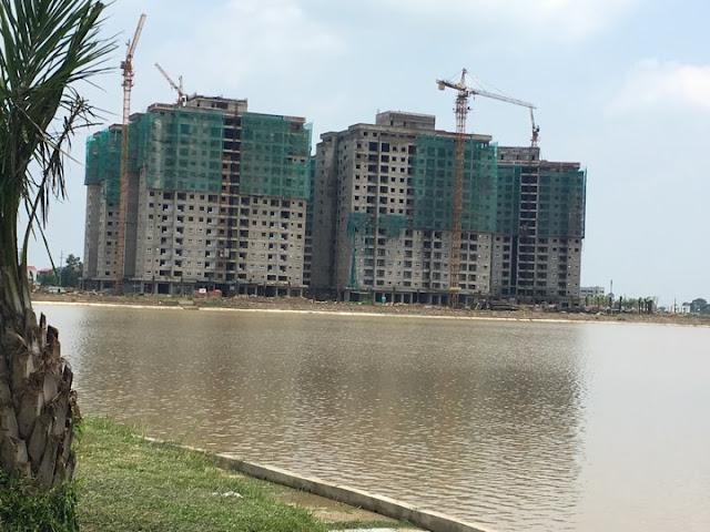 Hồ điều hòa chung cư Thanh Hà Mường Thanh