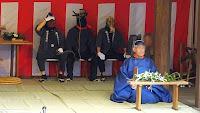 人文研究見聞録:奇祭・飛鳥坐神社のおんだ祭2016 [奈良県]
