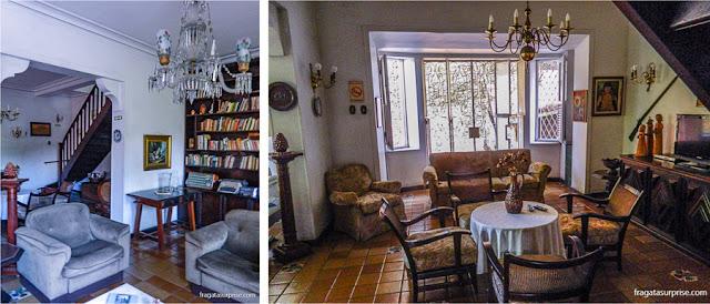 Salas de estar da Pousada Casa Forte, Recife