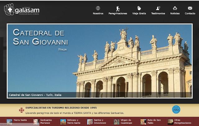 Peregrinaciones, producto turístico dedicado a las peregrinaciones religiosas: http://www.peregrinaciones.com.ec/