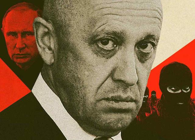 Evgeny Prigozhin, chefe da 'Wagner'. Objetivo é eliminar os opositores de Putin em qualquer lugar.
