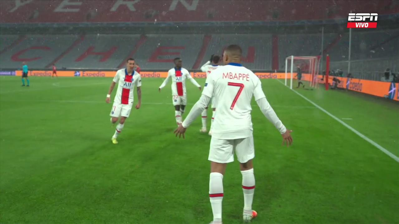 Bayern Munich vs PSG Cuartos de Final UCL (2021) 720p WEB-DL Latino