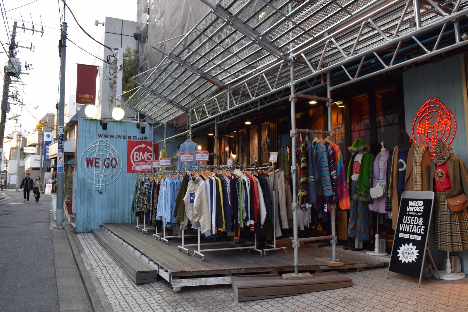 WEGO Shimokitazawa Tokyo