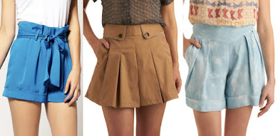Model Celana Pleated Short