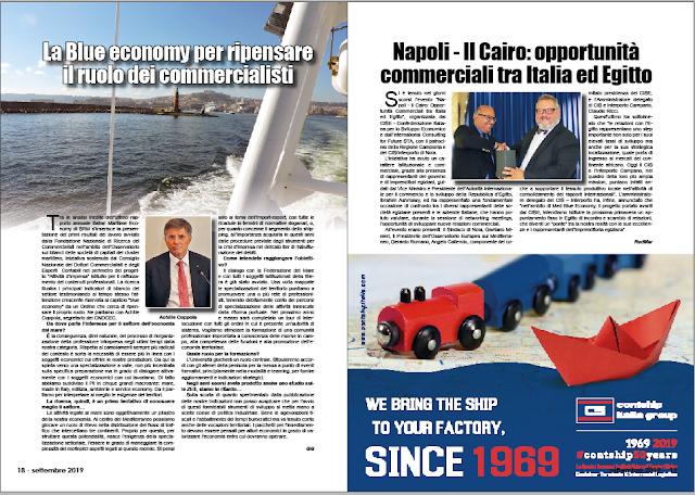 SETTEMBRE 2019 PAG. 19 - Napoli - Il Cairo: opportunità commerciali tra Italia ed Egitto