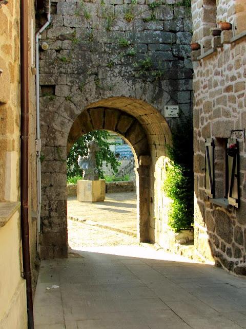 muralha do castelo de Melgaço