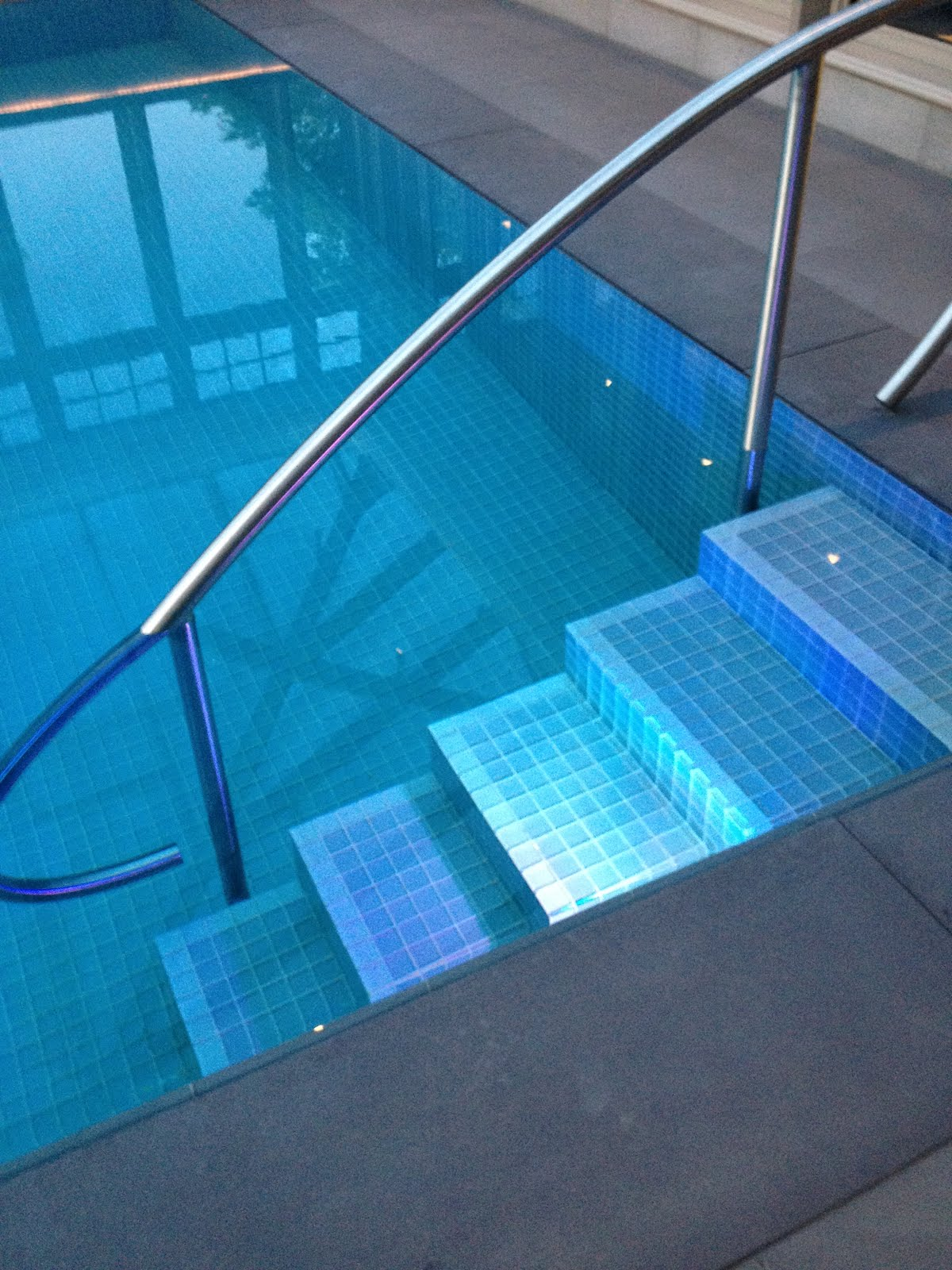 Aquaknot Pools Inc Knife Edge Perimeter Overflow Pool