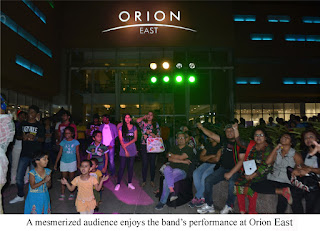 Aurko Band Performance at Orion East Mall 2