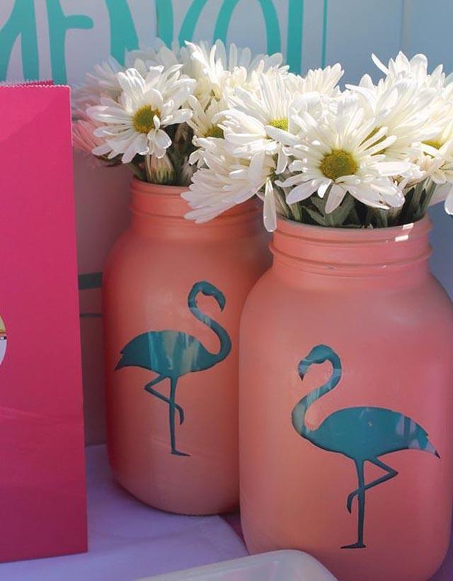copo de flamingo inspiração