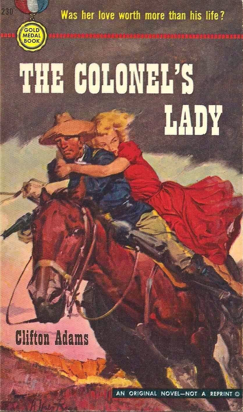Rough Edges: Forgotten Books: The Colonel's Lady - Clifton Adams