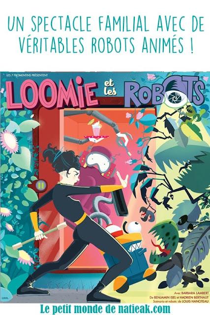 avis sur le spectacle Loomie et les robots