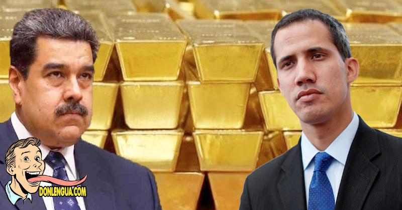 Qué fue de los mil millones de dólares en Oro que Venezuela tiene en Guaidó ?
