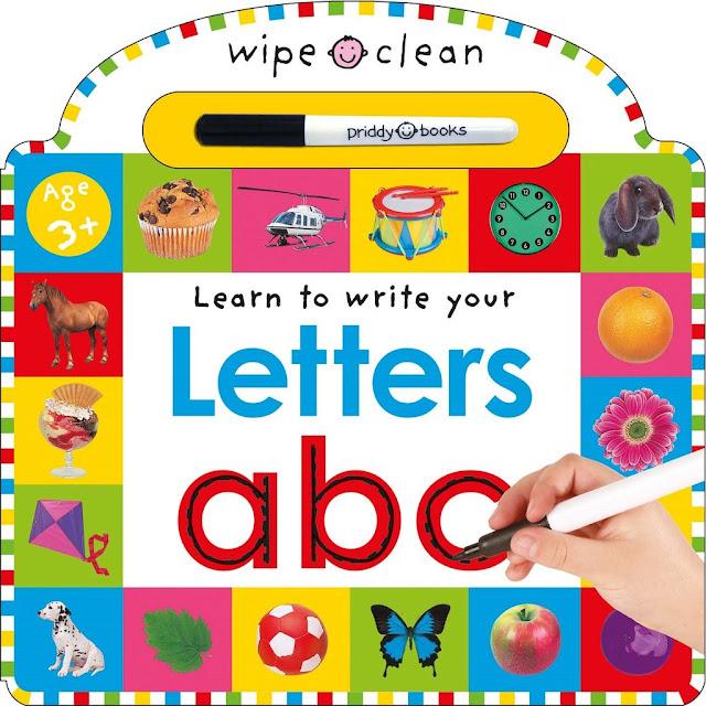 Wipe Clean Book untuk Belajar Menulis