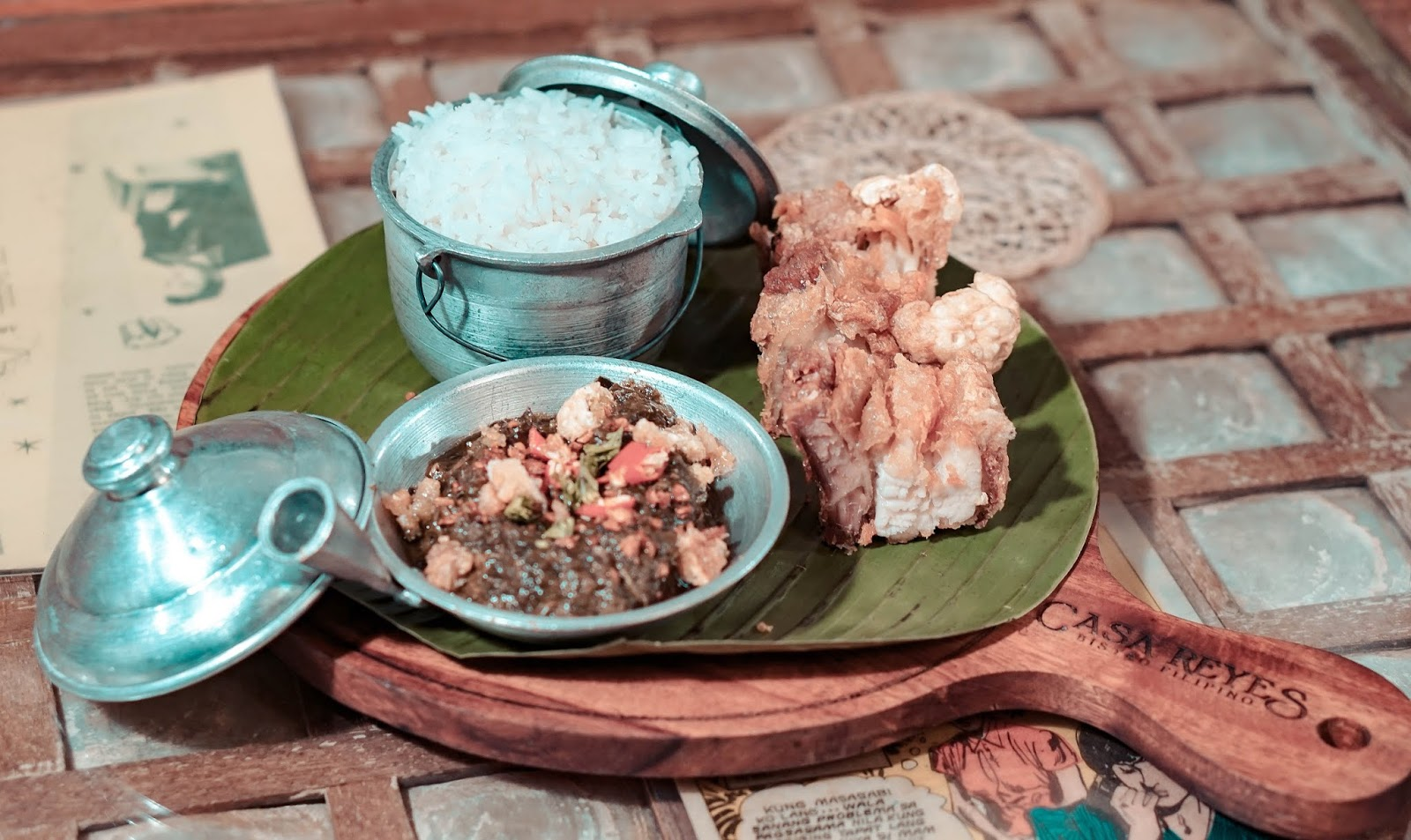 Where to eat in Greenhills - Casa Reyes Bistro Filipino, best wagyu beef