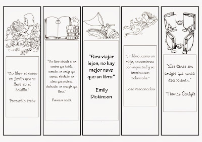 Resultado de imagen para marcapáginas dia del libro