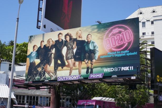 BH 90210 series premiere billboard
