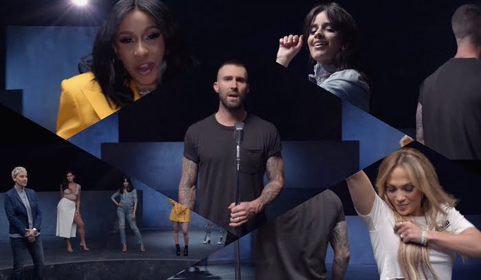 Cardi B e Jennifer Lopez Stars Video YouTube Girls Like You Maroon 5.