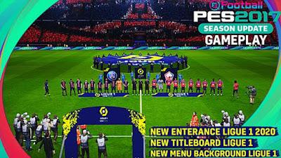New Mod Entrances Ligue 1 2020/21