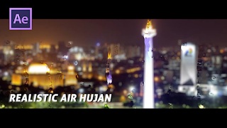Tutorial After Effect Bahasa Indonesia - Membuat Efek Air Hujan