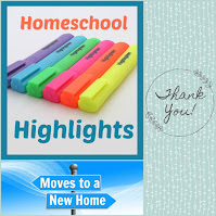 Homeschool Highlights Weekly Link-up has moved to a new location: