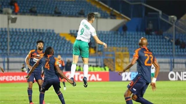مشاهدة مباراة المصري ونهضة بركان بث مباشر