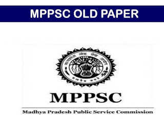 MP PSC OLD QUESTION PAPER