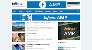 5 Super Best AMP  Blogger Templates 2020
