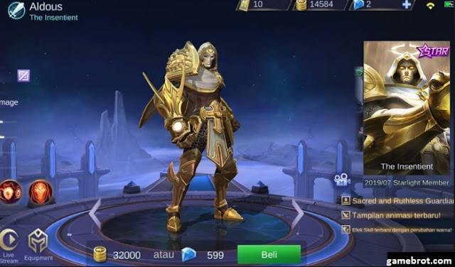 Aldous - Skin Starlight Member