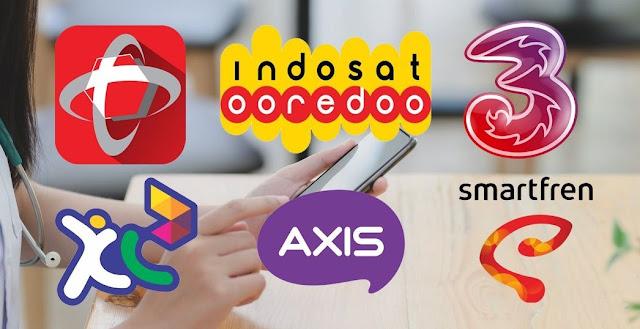 Tips Beli Paket Telkomsel Indosat XL Tri atau Smartfren