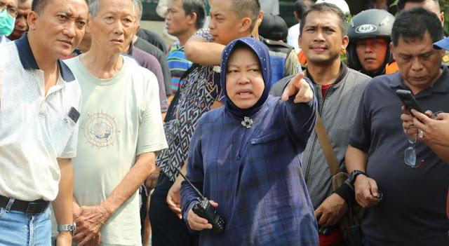Jalan Gubeng Ambles, Dimana Wali Kota Surabaya Tri Rismaharini?