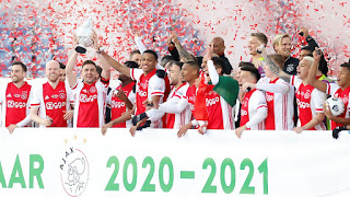 Ajax comemora título da Copa dos Países-Baixos
