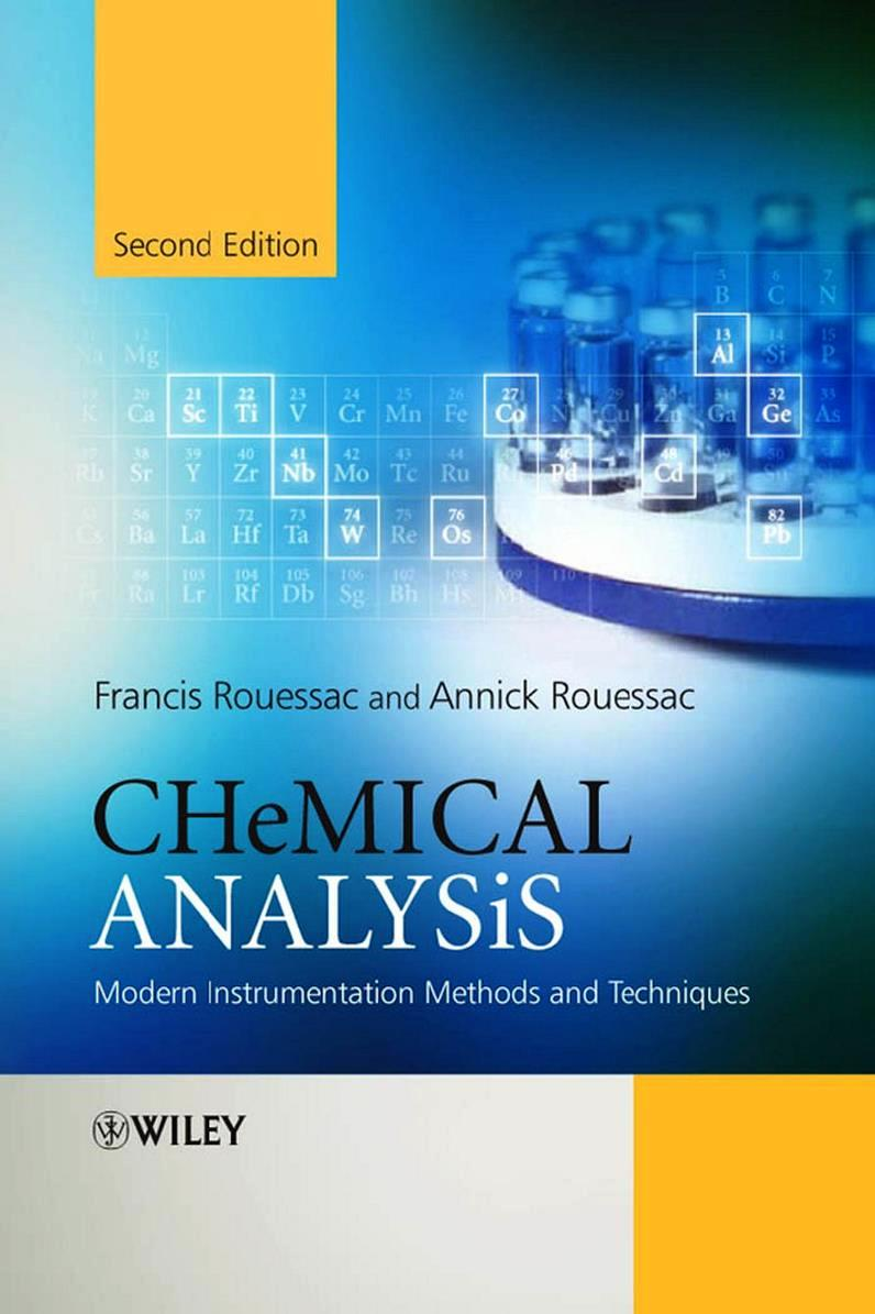 Chemical Analysis, 2nd Edition – Francis Rouessac