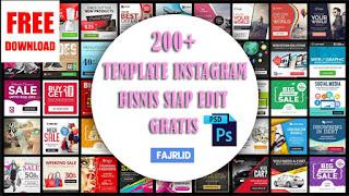 200+ Template Instagram Bisnis Siap Edit Gratis
