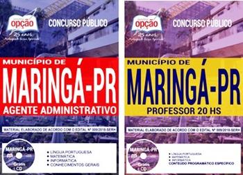 Apostila Concurso Prefeitura de Maringá PR 2018