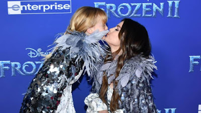Selena Gomez and her six-year-old sister steals the lime light at Frozen 2 red carpet premiere