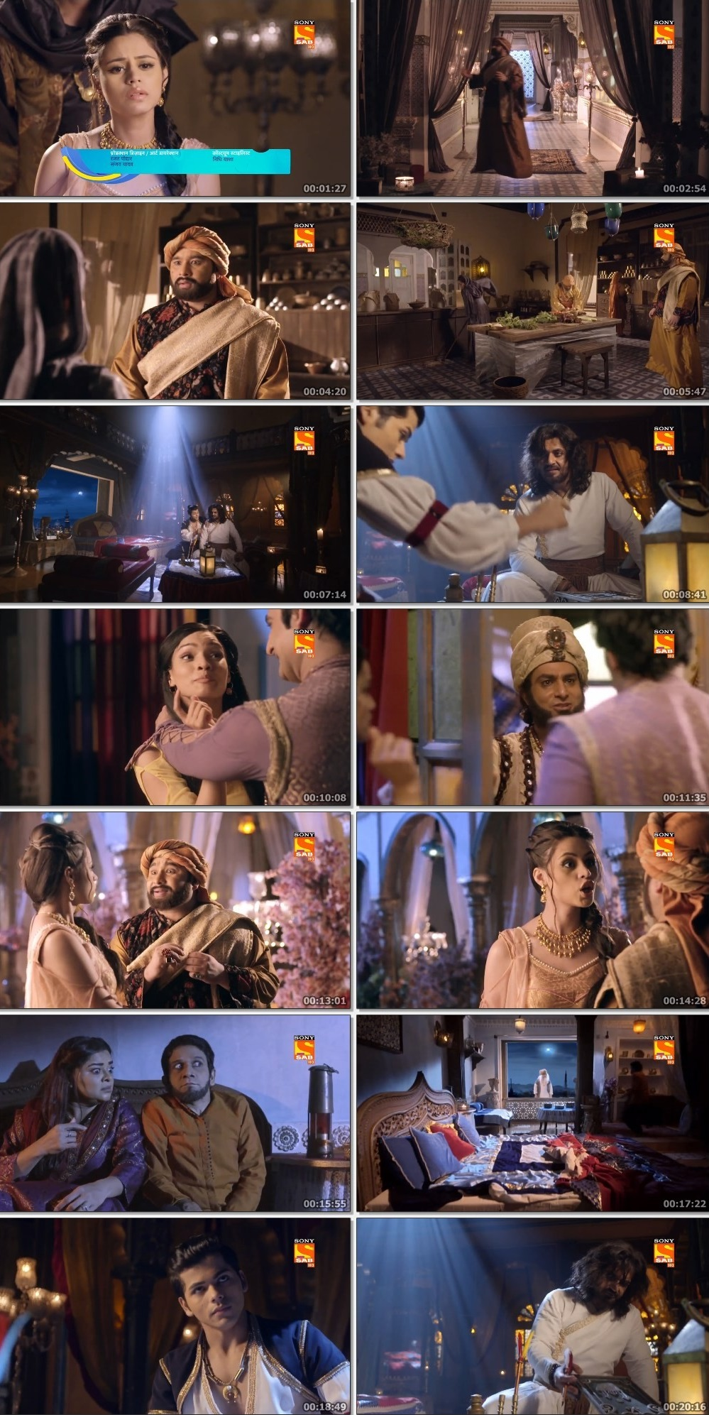 Screenshots Of Hindi Show Aladdin – Naam Toh Suna Hoga 2019 Episode 250 300MB 720P HD